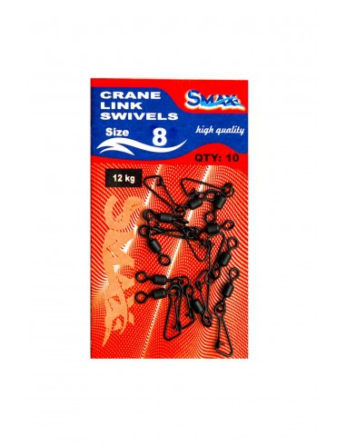 Agrafa cu vartej NR8 (Crane Link Swivel)
