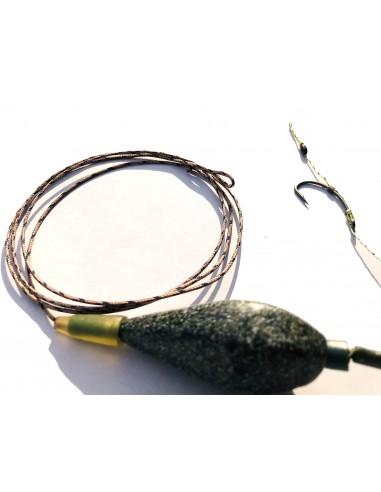 montura leadcore cu plumb in-line nr 6